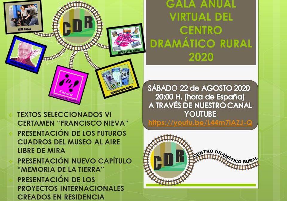 Gala anual virtual del Centro Dramático Rural de Mira