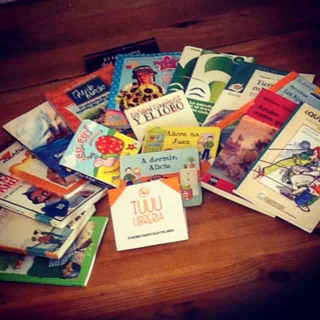 Donación de libros para acciones culturales