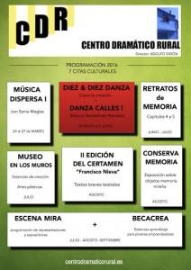 Segunda Cita Cultural 2016 en el CDR de Mira: DANZA CALLES I