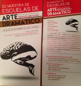 Diario de invierno III: III Muestra de Escuelas de Arte Dramático en Cuenca
