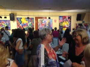Exposición de Tomás Viana en el Centro Social de Mira